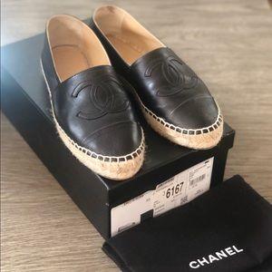 Chanel Espadrilles Flats
